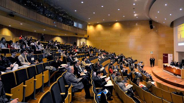 Inauguració Jornades Emprenedors Auditori Campus Cap Pont UdL 02 Abril 2009